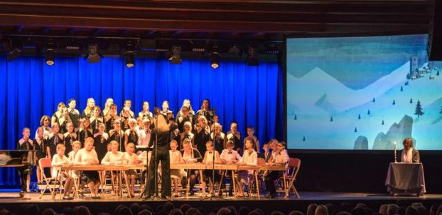 """Jūrmalas Mūzikas vidusskolas adventa laika koncerts """"Mūzikas tilts"""""""