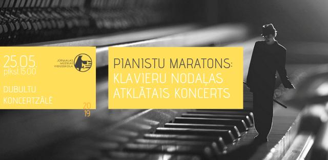 Pianistu maratons Dubultu koncertzālē