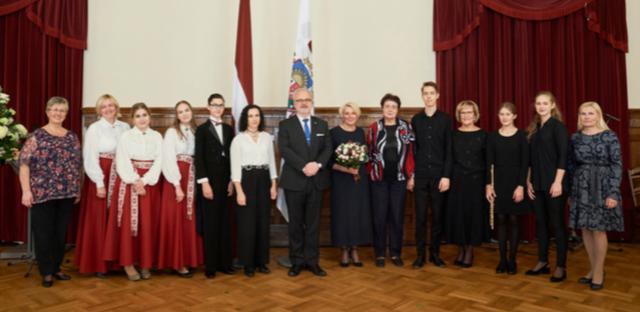 Viesošanās Rīgas pilī 4. oktobrī