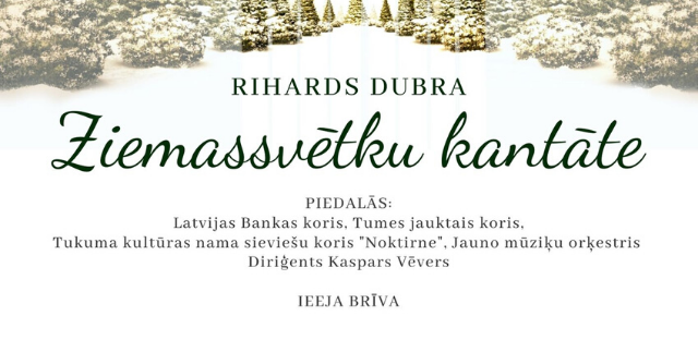 Riharda Dubras Ziemassvētku kantāte