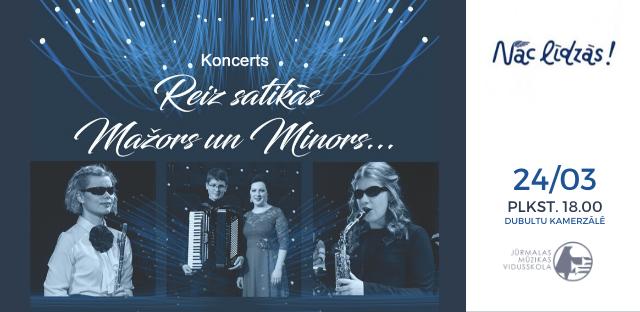 Muzikāls stāsts – Reiz satikās mažors ar minoru kopā ar pianisti Agnesi Egliņu un neredzīgajiem jaunajiem mūziķiem  / ATCELTS