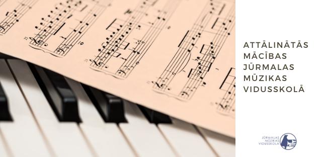 Attālinātās mācības Jūrmalas Mūzikas vidusskolā