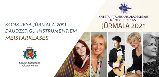 Meistarklases konkursa Jūrmala 2021 dalībniekiem