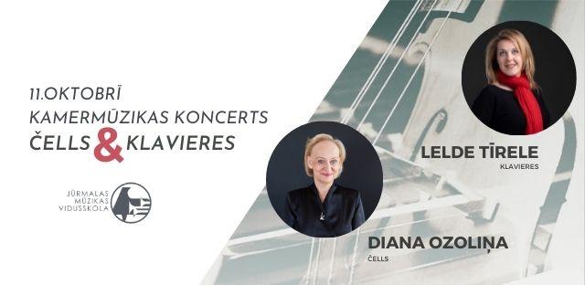 Kamermūzikas koncerts - čells & klavieres
