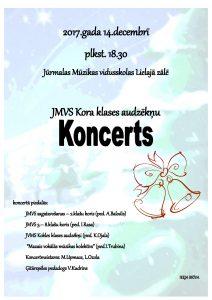 JMVS Kora klases audzēkņu Koncerts