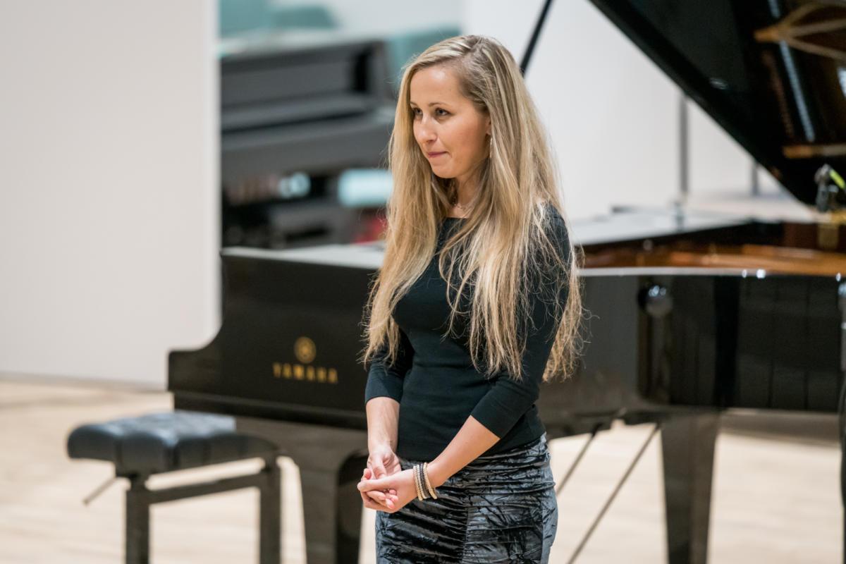 Meistarklases noslēguma koncerts Jūrmalas mūzikas vidusskolā 02-11-2018