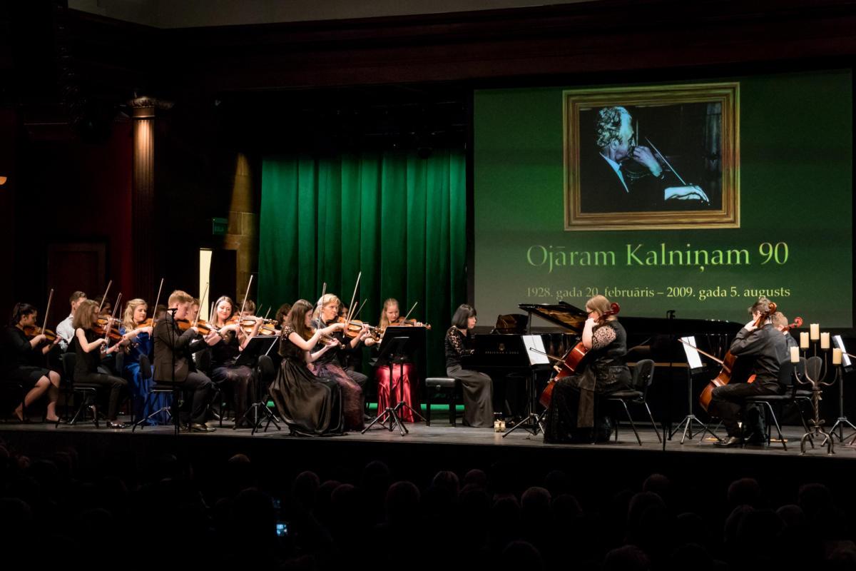 Ojaram Kalninam 90 koncerts DZK-40