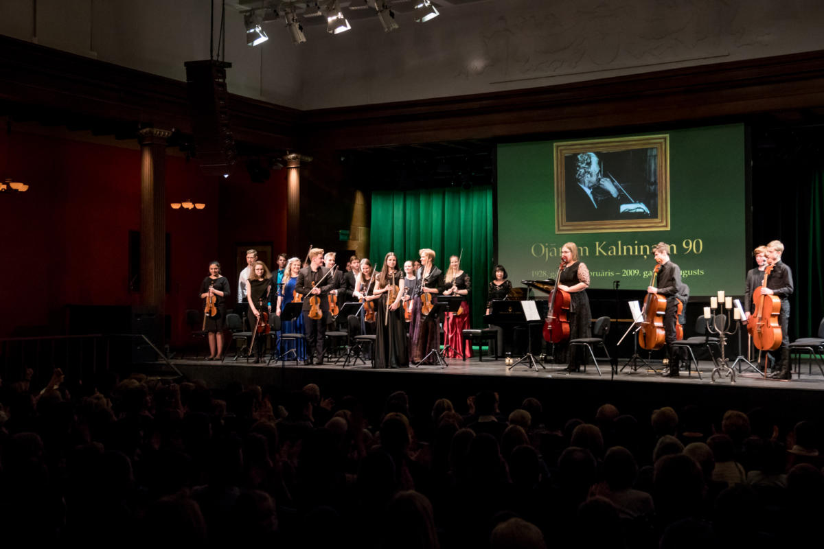 Ojaram Kalninam 90 koncerts DZK-42