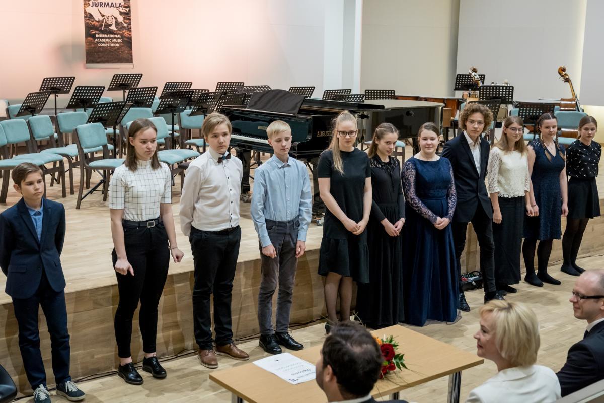 Konkursa apbalvosana Jurmalas Muzikas vidusskola-19