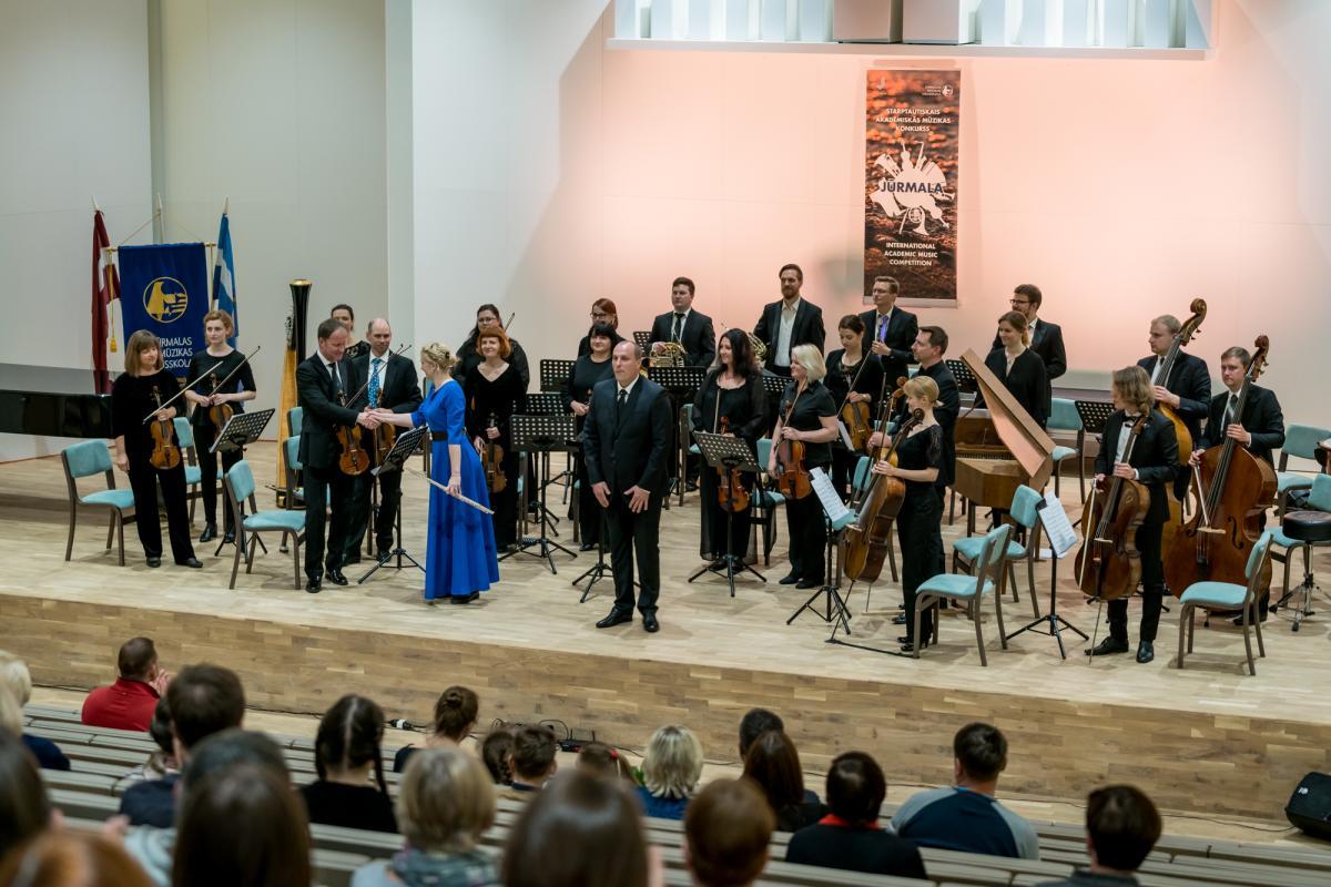 """XX Starptautiskais akadēmiskās mūzikas konkurss """"Jūrmala 2019"""" koka pūšaminstrumentiem – apbalvošanas ceremonija un noslēguma koncerts"""